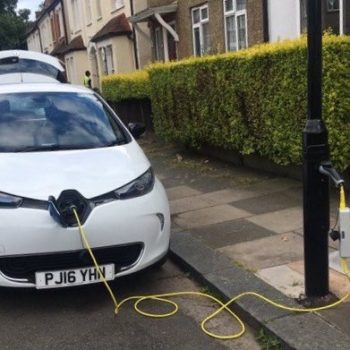 ubitricity powering new electric vehicle charge points in London